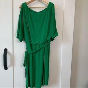 Jessica Simpson Green Mini Dress 2X